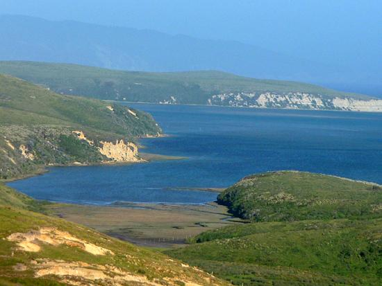 Creamery Bay and Bull Point